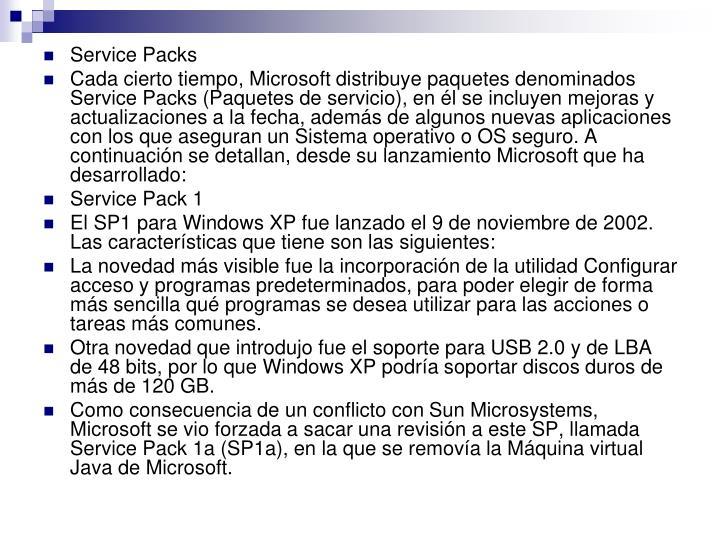 Service Packs