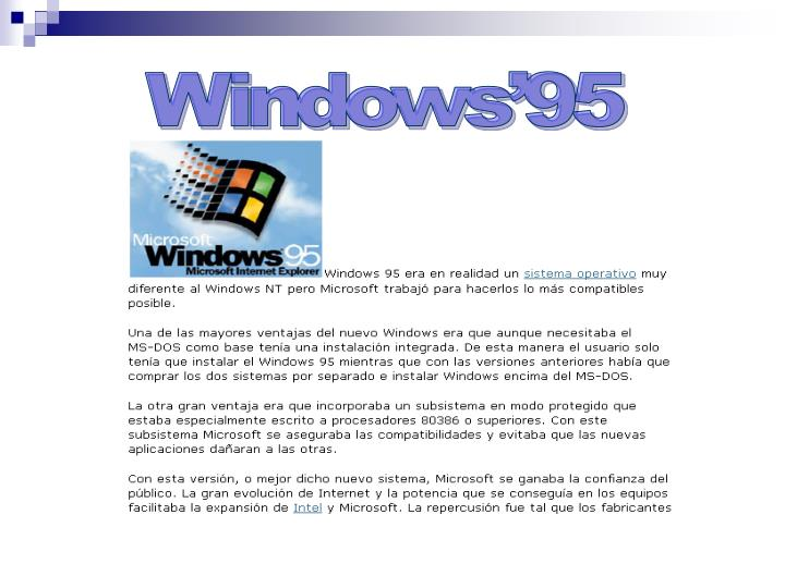 Windows'95