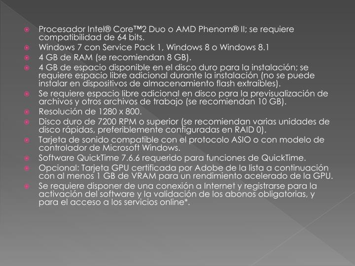Procesador Intel® Core™2