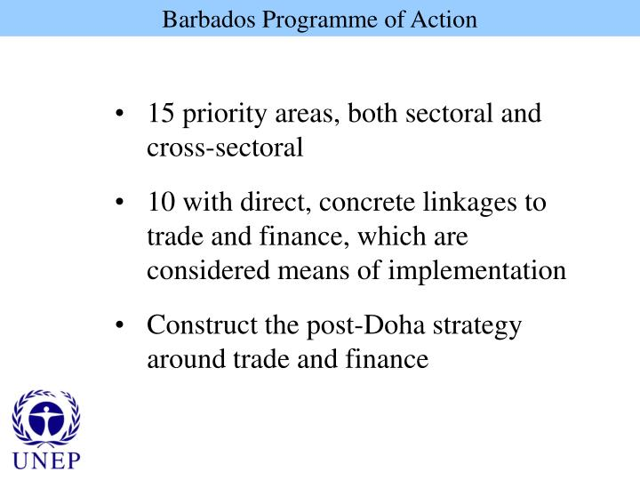 Barbados Programme of Action