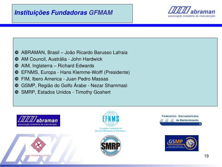 Instituições Fundadoras