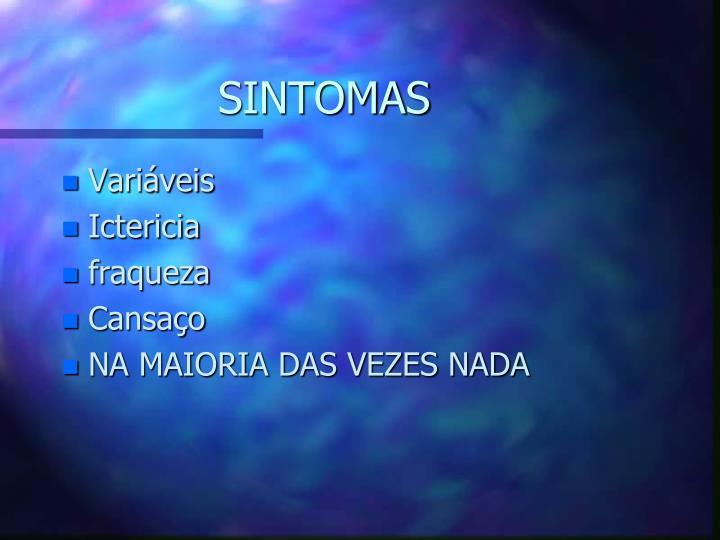 SINTOMAS