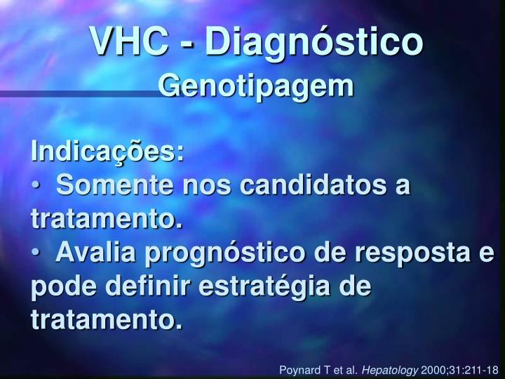 VHC - Diagnóstico