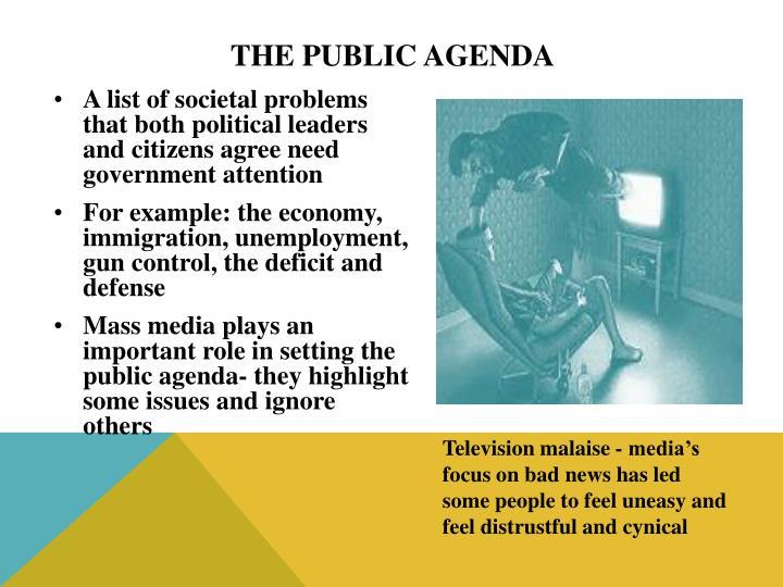 The Public Agenda