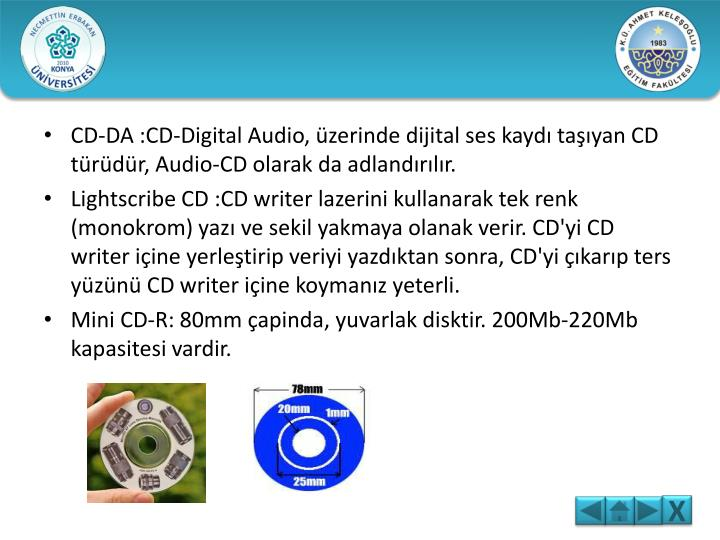 CD-DA :CD-Digital