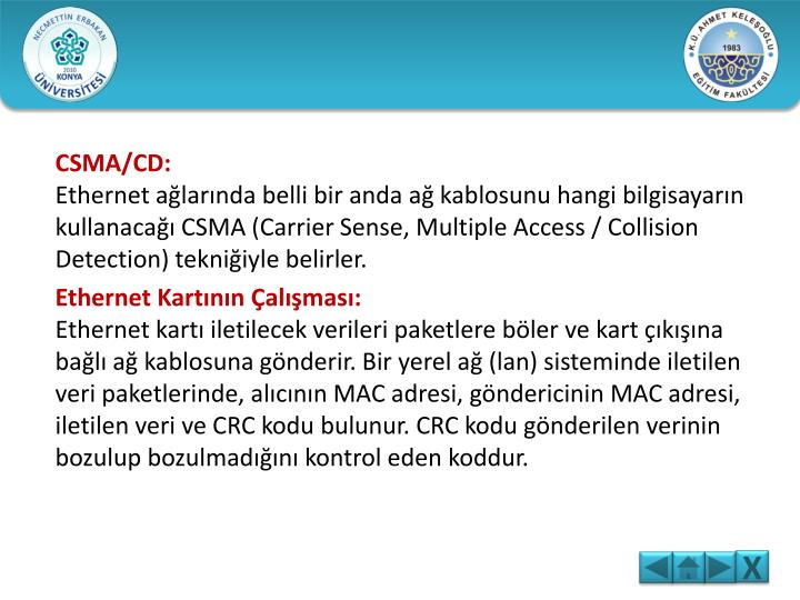 CSMA/CD: