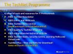 the technet programme