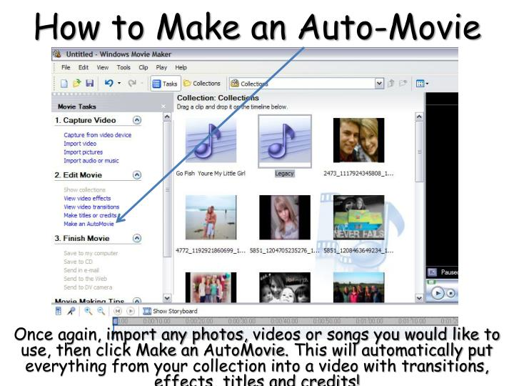 How to Make an Auto-Movie