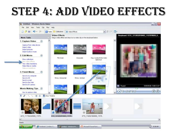 Step 4: Add Video Effects