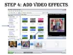 step 4 add video effects