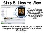 step 8 how to view