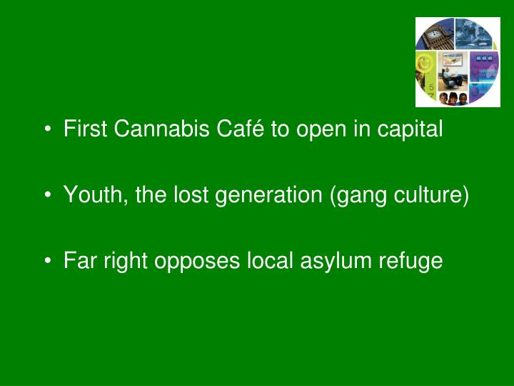 First Cannabis Café to open in capital