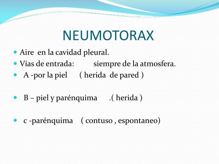 NEUMOTORAX
