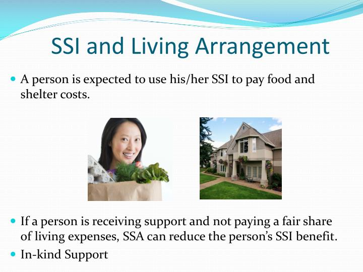 SSI and Living Arrangement