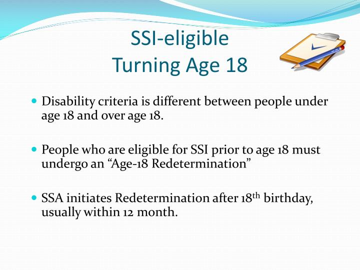 SSI-eligible