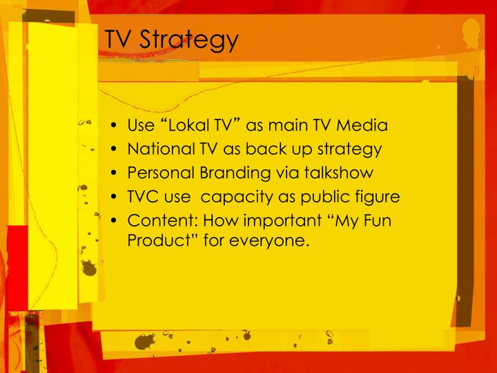 TV Strategy