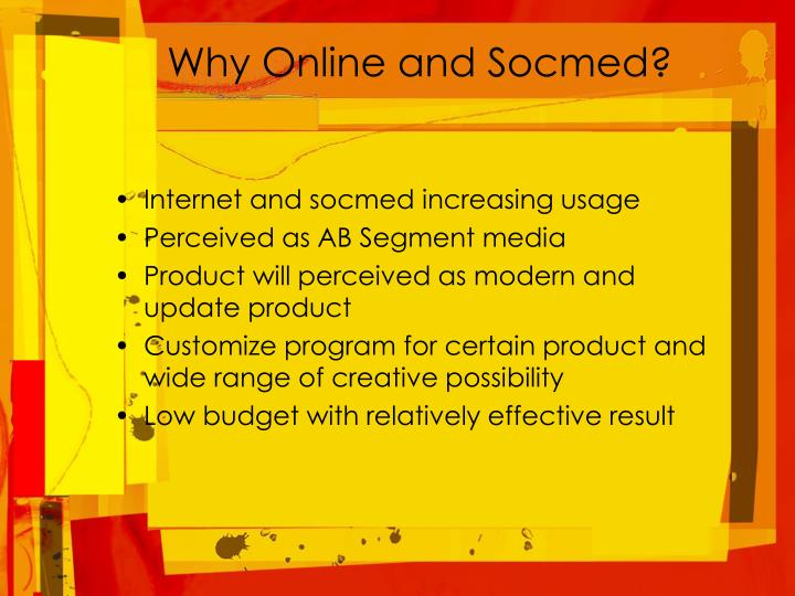 Why Online and