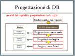progettazione di db12