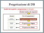 progettazione di db16
