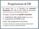 progettazione di db17