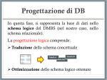 progettazione di db20