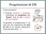 progettazione di db7