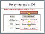 progettazione di db9