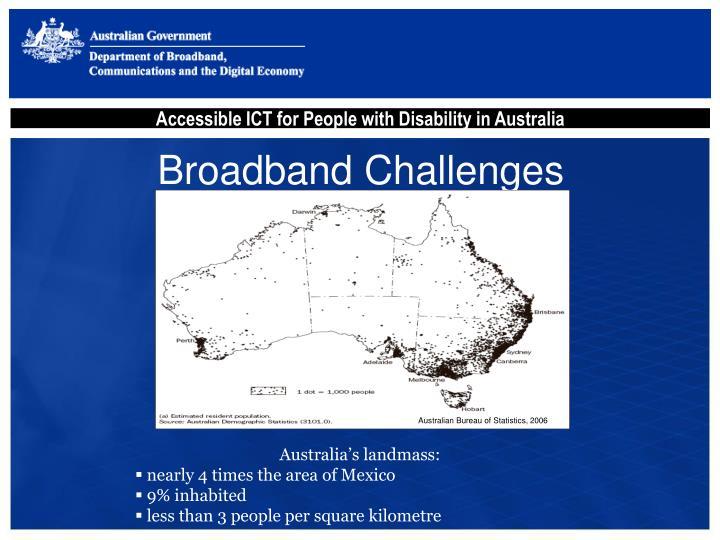 Broadband Challenges
