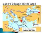 jason s voyage on the argo