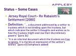 status some cases