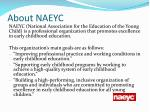 about naeyc