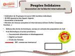 peuples solidaires association de solidarit internationale