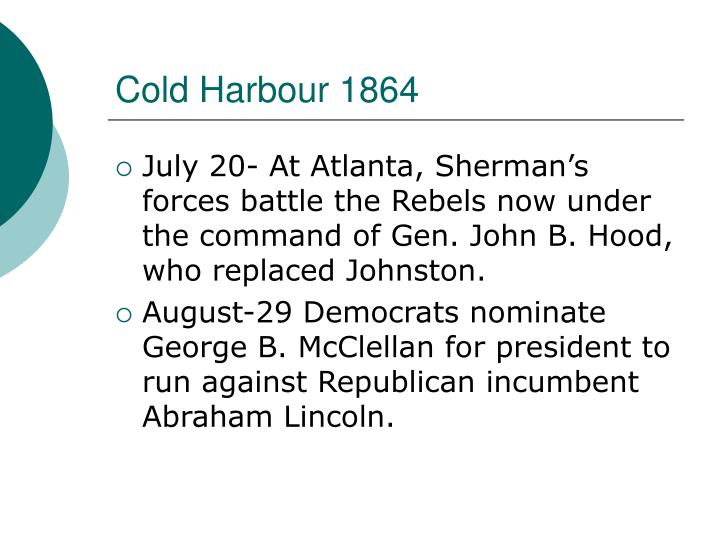 Cold Harbour 1864
