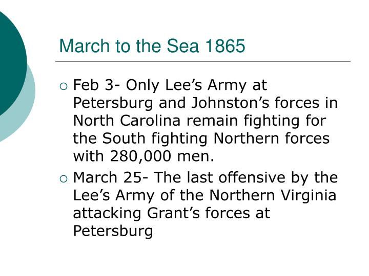 March to the Sea 1865