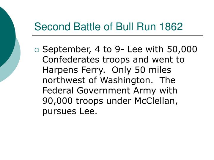 Second Battle of Bull Run 1862