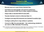 interleaf to xml automated conversion process