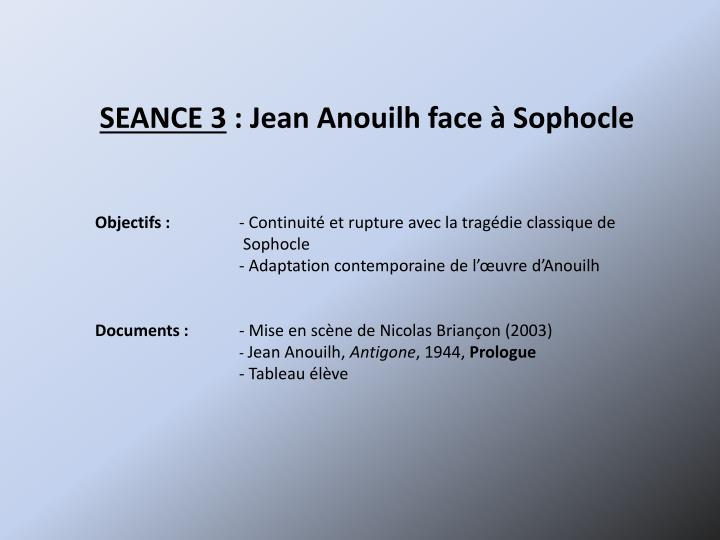 SEANCE 3