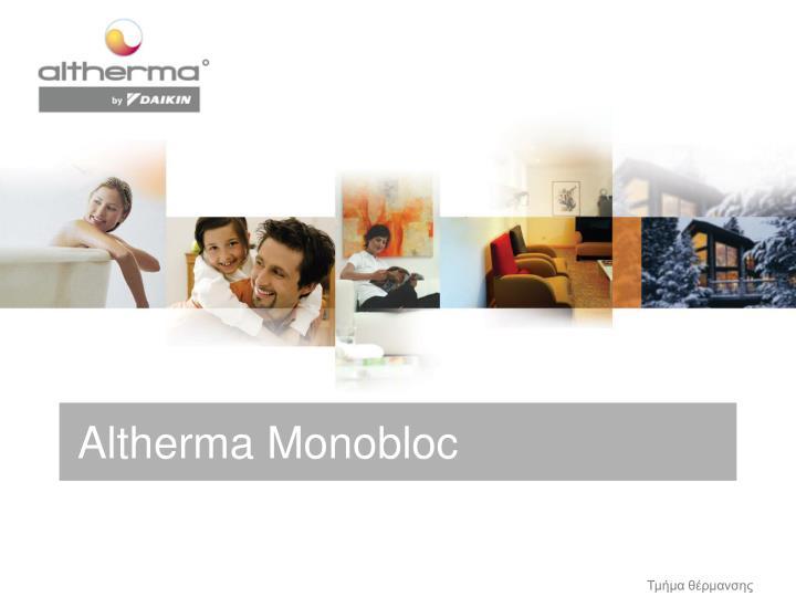 Altherma Monobloc