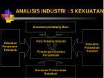 analisis industri 5 kekuatan