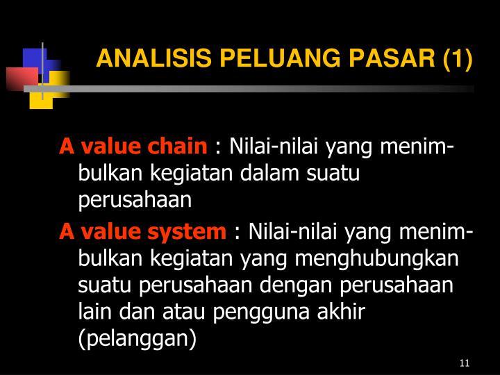 ANALISIS PELUANG PASAR (1)