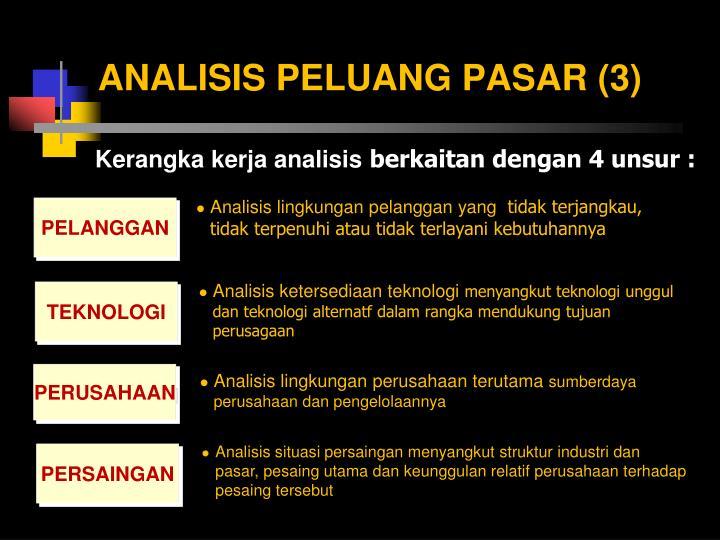 ANALISIS PELUANG PASAR (3)