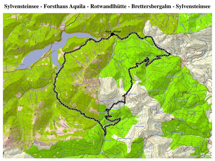 Sylvensteinsee -