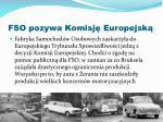 fso pozywa komisj europejsk