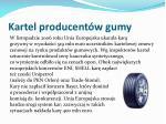 kartel producent w gumy