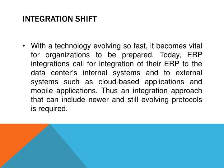 Integration Shift