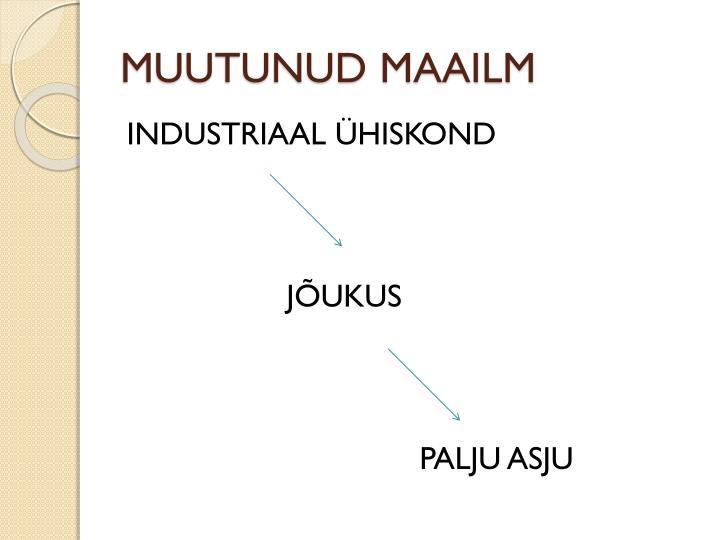 MUUTUNUD MAAILM