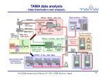 tama data analysis data distribution and analysis