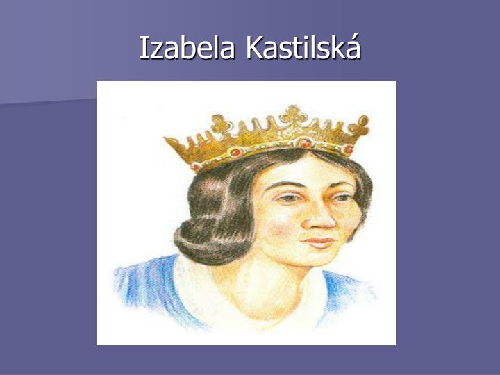 Izabela Kastilská