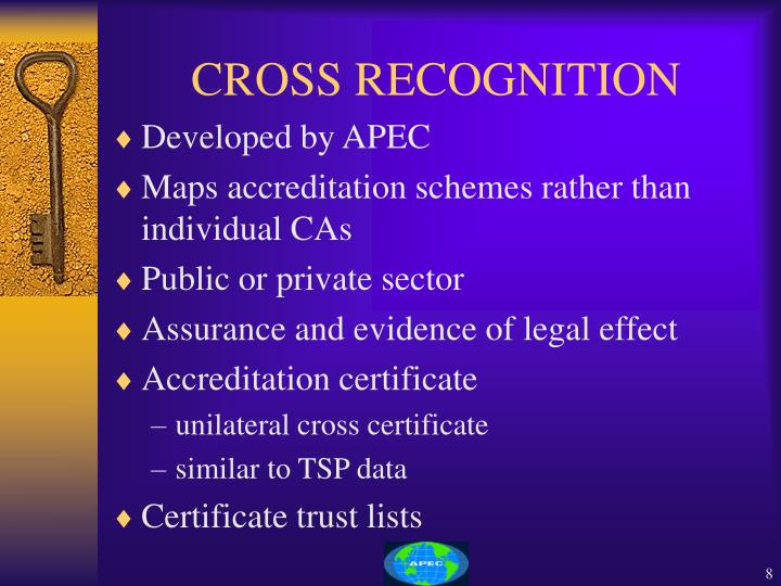 CROSS RECOGNITION