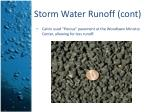storm water runoff cont1
